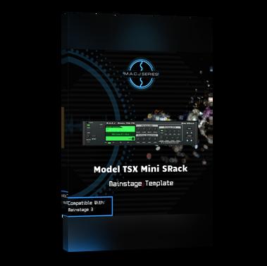 Model TSX FM Mini SRack