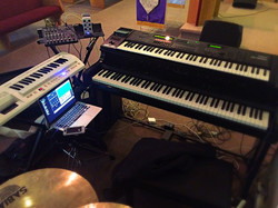Marland Jones Church Setup