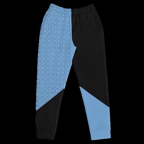 M.A.C.J Apparel Women's Joggers Baby Blue/Black
