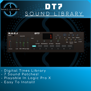 DT7 Sound Library