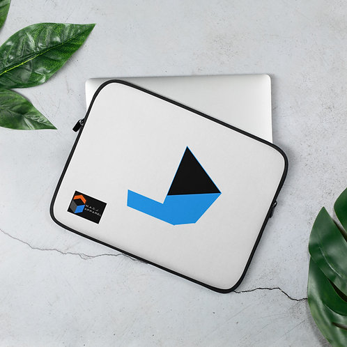 M.A.C.J Records White Laptop Sleeve