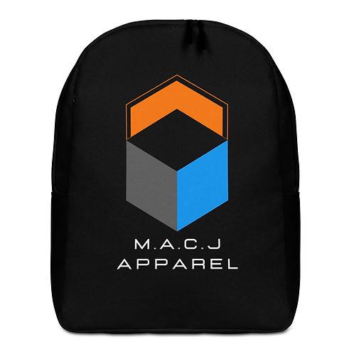M.A.C.J Apparel Minimalist Backpack (All Black)
