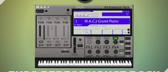 M.A.C.J EX20 Performance Rack