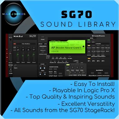 SG70 Sound Library