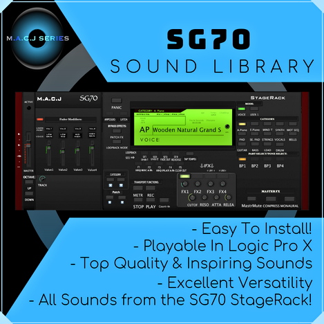 SG70 Sound Library