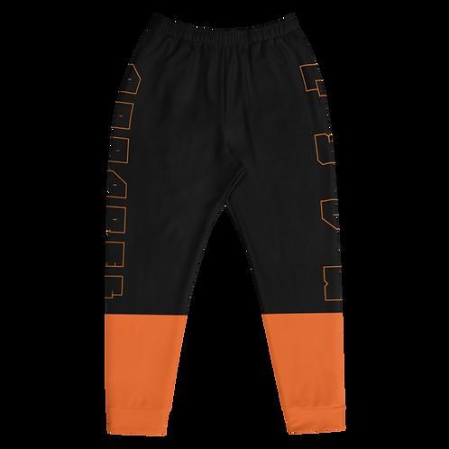 M.A.C.J Apparel Men's Joggers Orange Invert