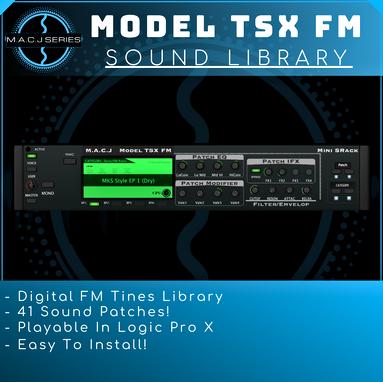 Model TSX FM Sound Library