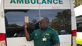 Zesty Amulance Driver