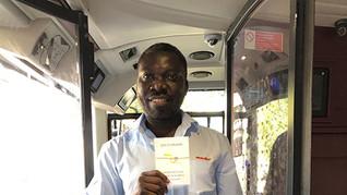 London Zesty bus driver