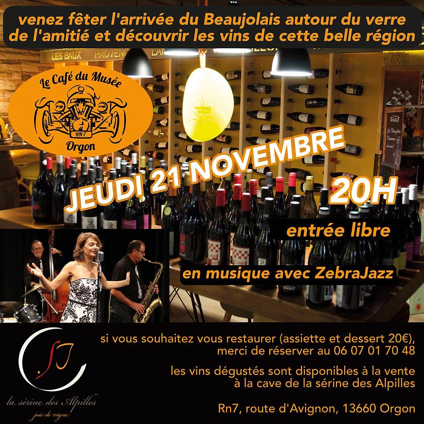 soirée beaujolais en musique