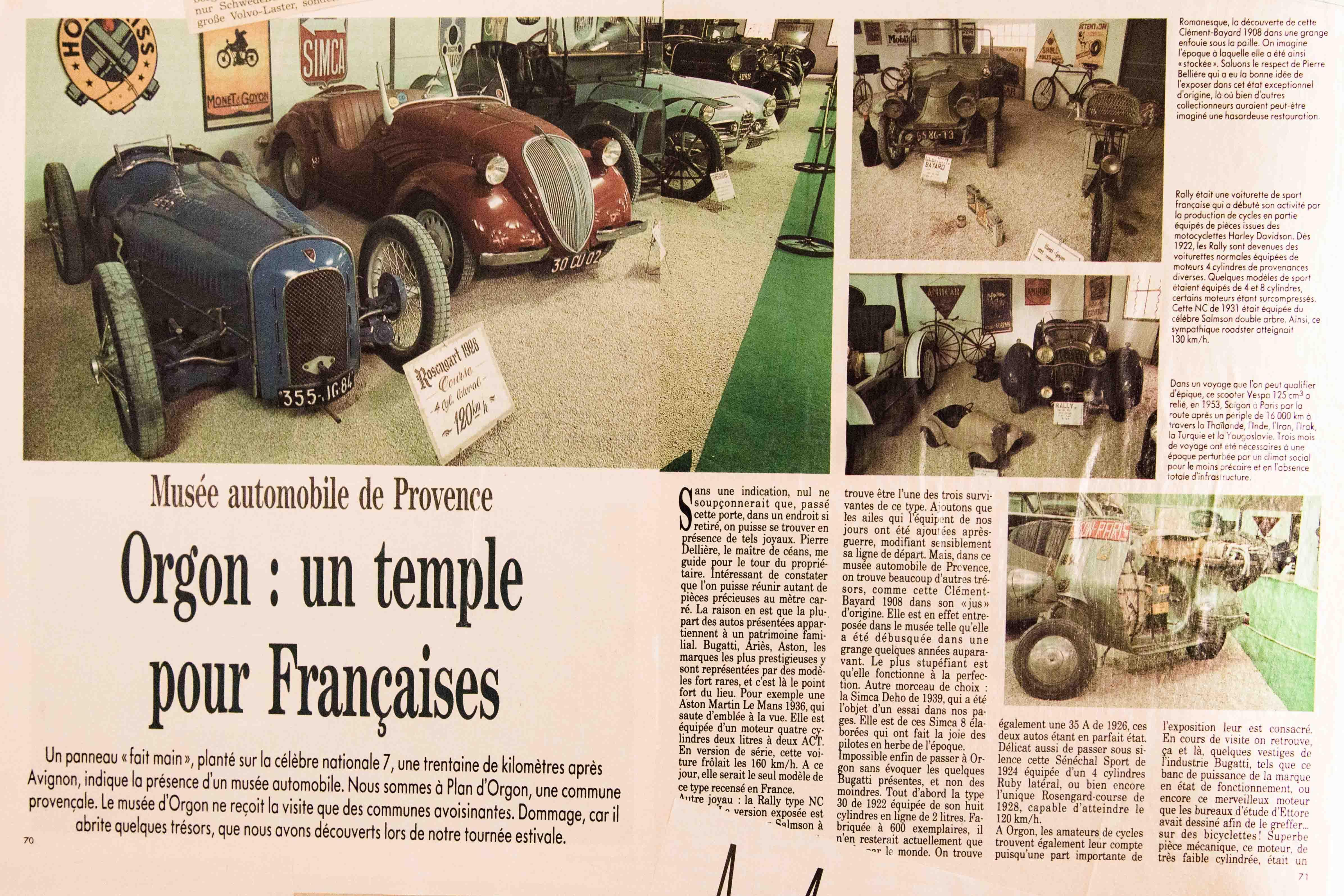 1995 - Musée Automobile de Provence