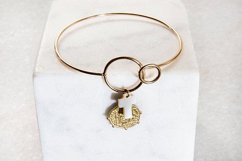 Bracelet Chloé croix