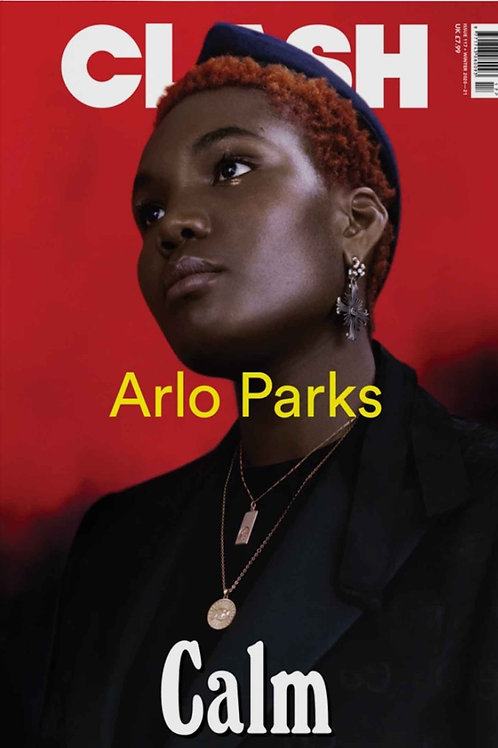 Clash #117 cover: Arlo Parks