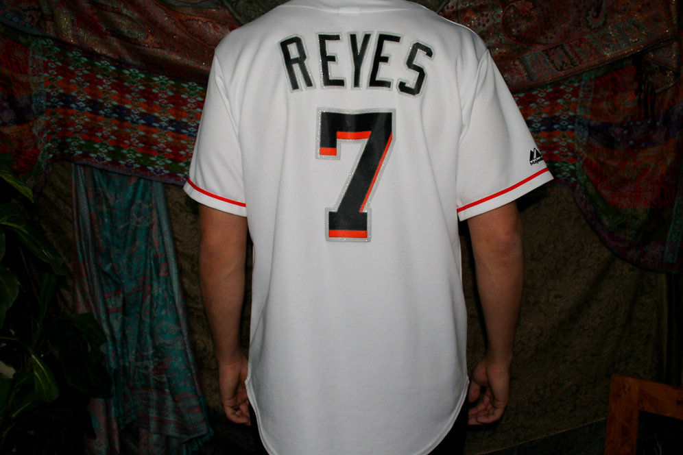 new styles b21b7 27a45 Jose Reyes Miami Marlins Jersey