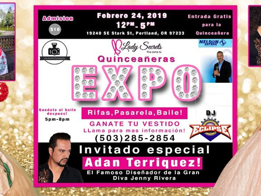 EXPO  QUINCEANERA FEB 24th