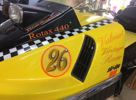 Private Owners Collection- Check out this spectacular 1971 Skidoo Bombardier 713 Original Miles.