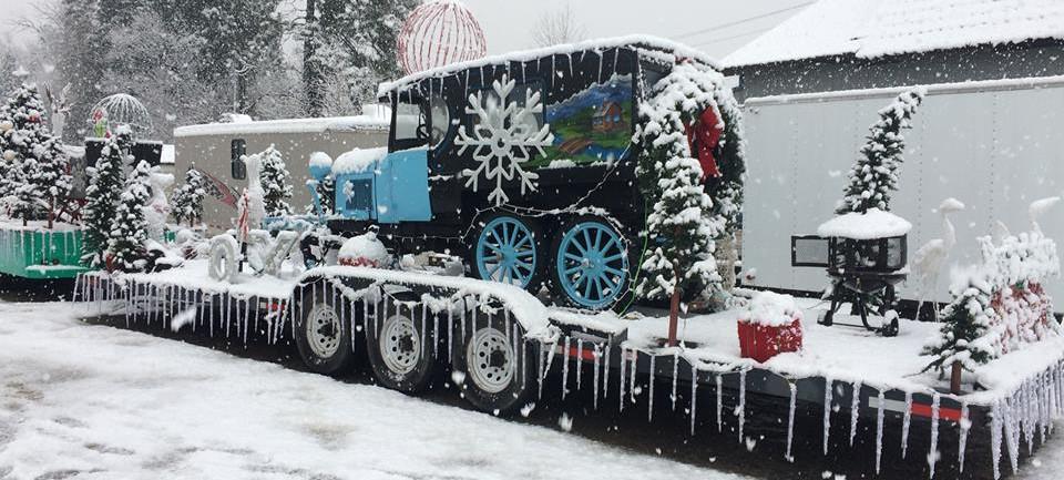 Cle Elum Christmas Parade - MotorToys 1st Place.
