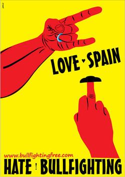 Love Spain - Hate Bullfighting
