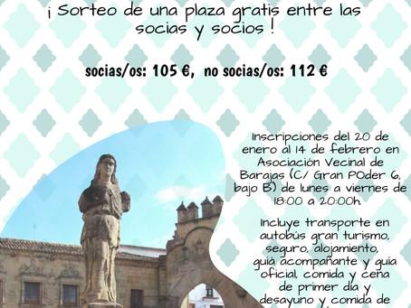 Viaje a Úbeda, Baeza, Jaen y Linares.