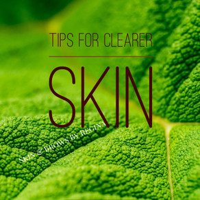 My tips for clearer skin