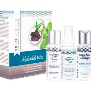 Short on time?  Meet The Minimalist Kit  ​from Skin Script Rx!