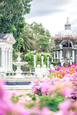 Mary Mediatrix Garden Plaza