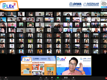 CO-FACILITATORS TO CO-ANIMATORS: Online Training Dwells on Parent Involvement in Flexible Learning