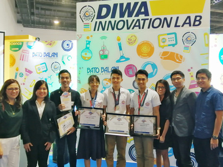 Students from Tagbilaran City winbest scienceinvestigatory project contest