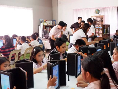 Naga City school uses e-learning to teach students about the electoral process