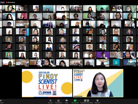 Promoting science and technology to Filipino youth through Bato Balani Pinoy Scientist Live!