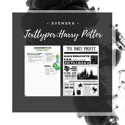 Texttyper: Harry Potter