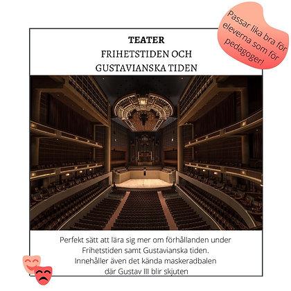 Teater Frihetstiden/ Gustavianska tiden