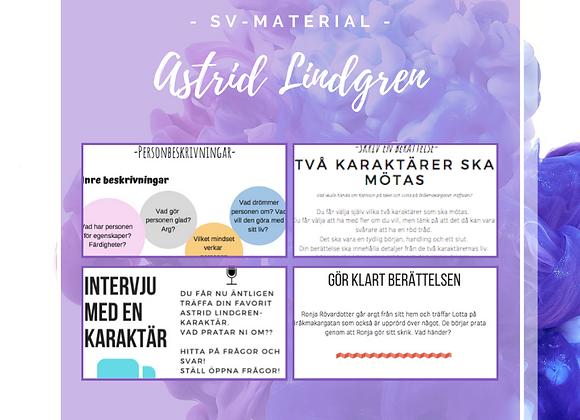 Tema Astrid Lindgren