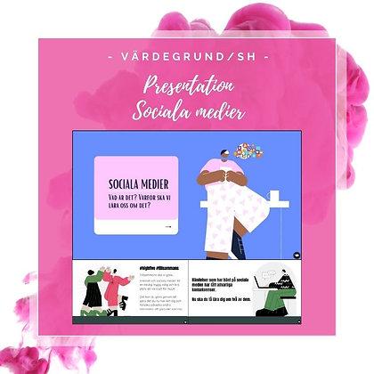 Presentation om sociala medier