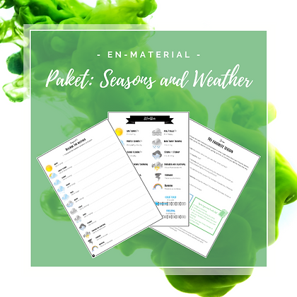 Paket: Seasons and weather