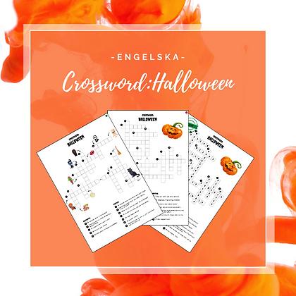 Crossword: Halloween