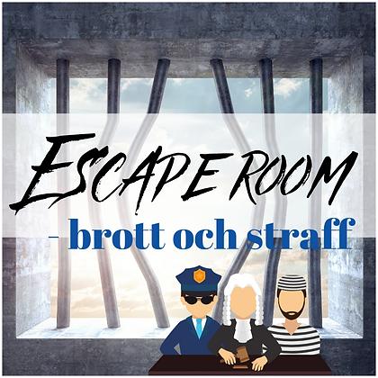Escape room - Brott och straff