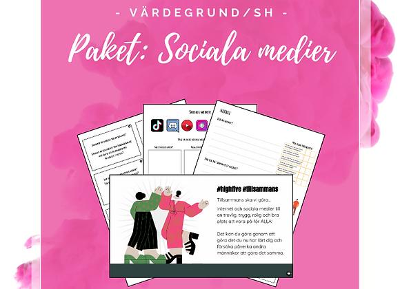 Paket: Sociala medier