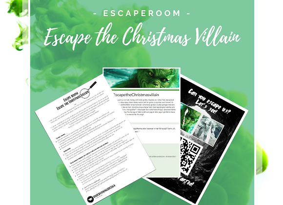 Escape room - Escape the Christmas villain