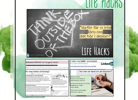 """""""Life Hacks"""" - det här får vi inte lära oss i skolan"""