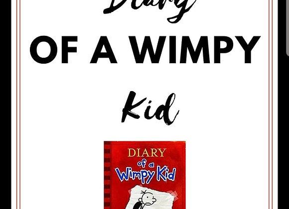 Arbetshäfte till Diary of a Wimpy kid