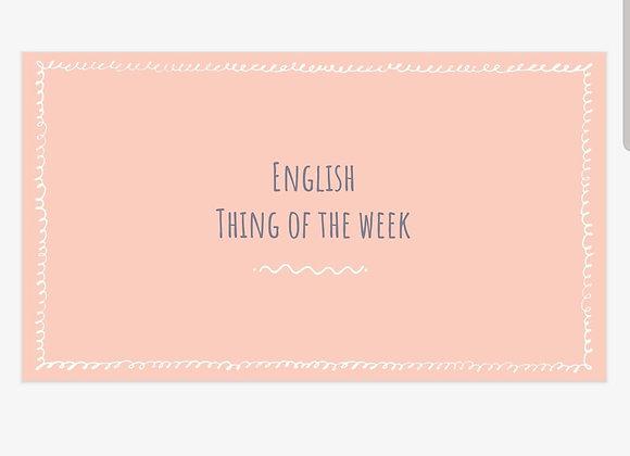 Grej of the day - på Engelska