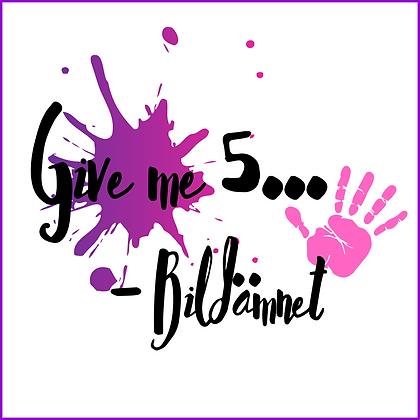 Give me five - Bild