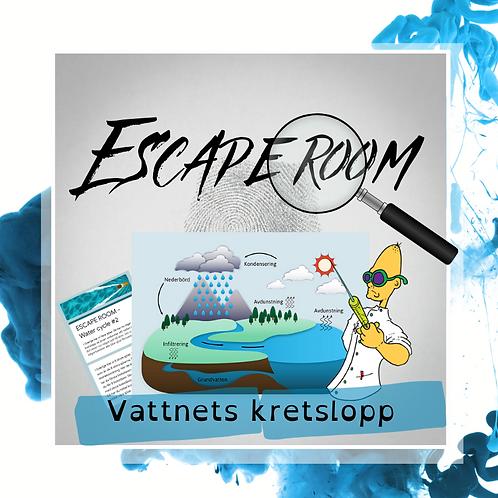 Escape Room - Vattnets kretslopp