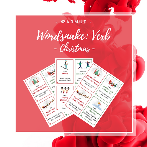 Wordsnake: Verb - Christmas
