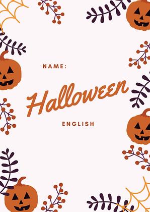 Halloween - arbetshäfte