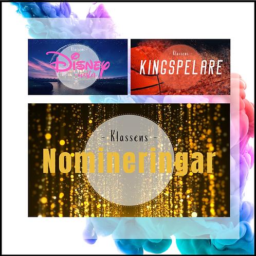 Klassens nomineringar