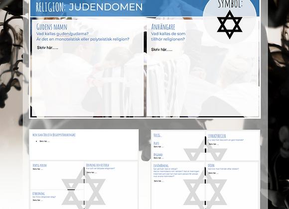 Snabbkoll: JUDENDOM