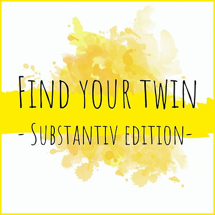 Find your twin - subjektiv edition