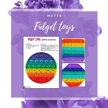Fidget toys - matte